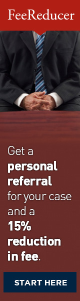Get a personal recommendation for your case and a 15% reduction in fee!